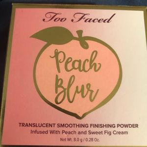 Brand new too faced finishing powder